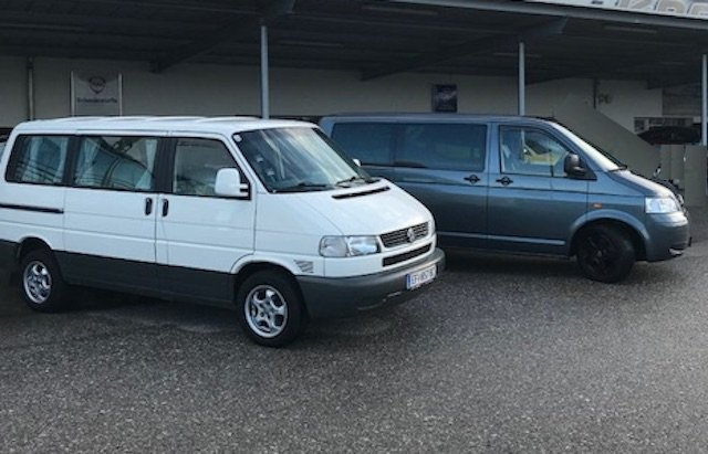 BusChecker begleitet Sie gerne ueber Jahre und VW Bus Generationen hinweg