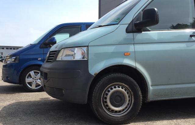 T5 Multivan Serie II Kaufberatung mit dem BusChecker gespiegelt