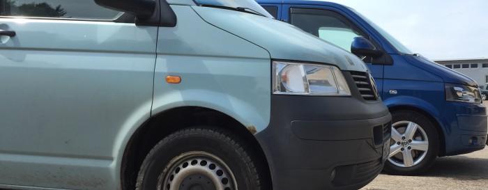 VW Bus T5 Kaufberatung altes oder neues Gesicht kaufen