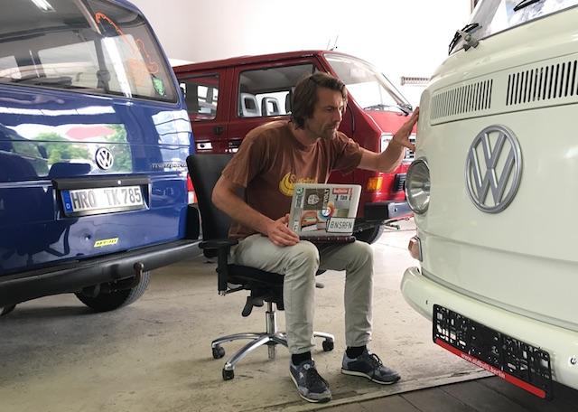 VW Bus Gutachten vom Spezialisten