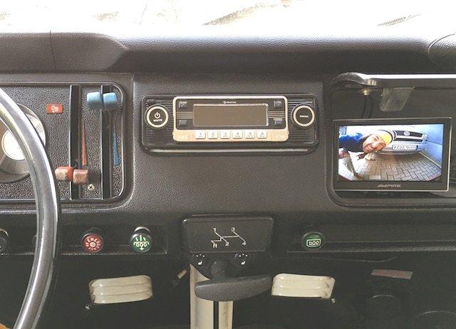 VW Bus T2 Rueckfahrkamera