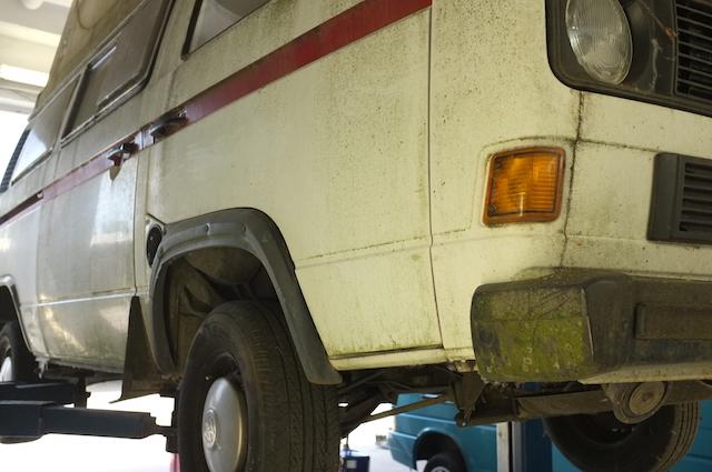 VW Bus T3 verblichen und nicht aufbereitet oft das bessere Angebot
