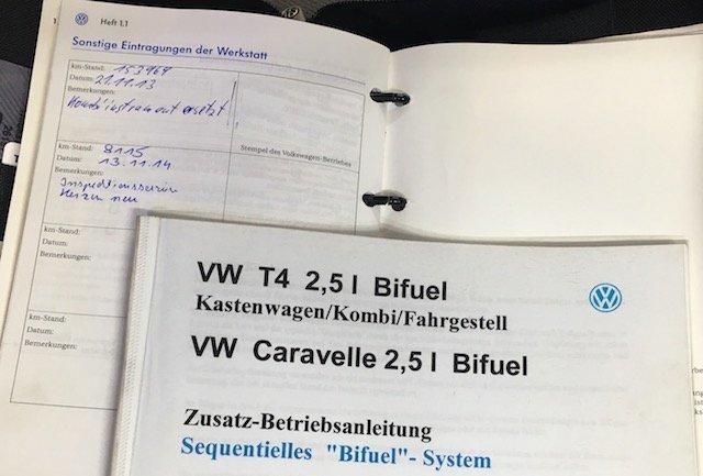 VW Bus T4 Bifuel Erfahrungen Freigabe Volkswagen IAV GmbH