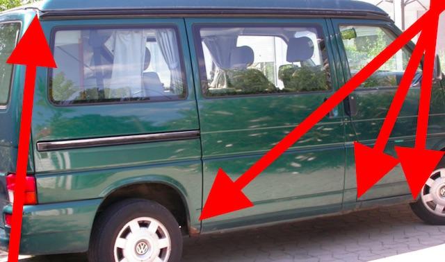 VW Bus T4 KlappDachCamper zum halben Marktpreis