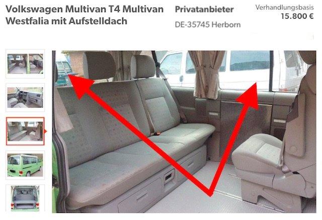 VW Bus T4 kaufen von Privat wirtschaftenden Haendlern