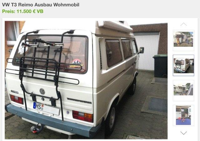 VW Bus kaufen Hundegeruch Problem