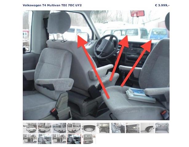 VW Bus verkaufen privater Anbieter besser mit dem BusChecker Inserate scannen