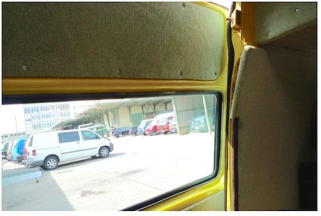 Fenster in der T3 Postbusschiebetür nachrüsten