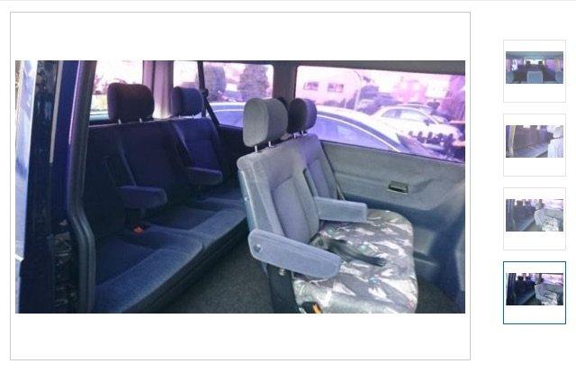 Hundehaare VW Bus Sitz entfernen