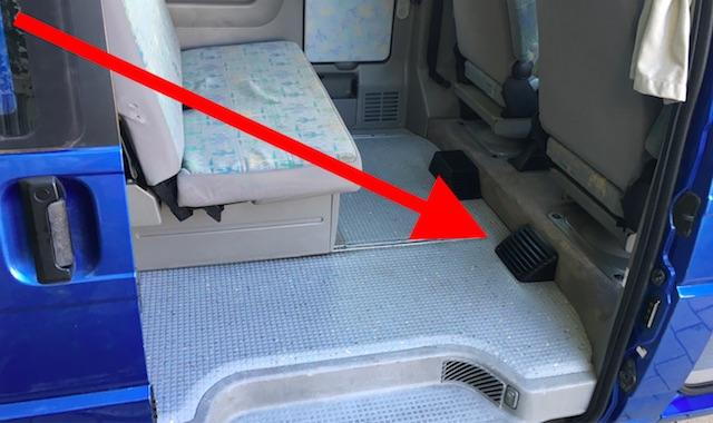 Hundehaare im VW Bus