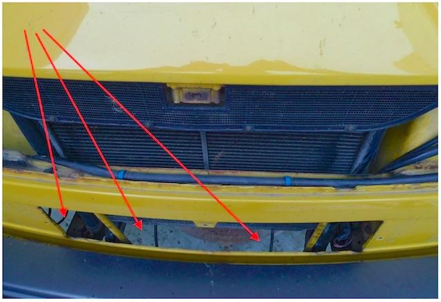Luftleitbleche beim VW Bus fehlen oft und sind schuld an mangelnder Kühlung