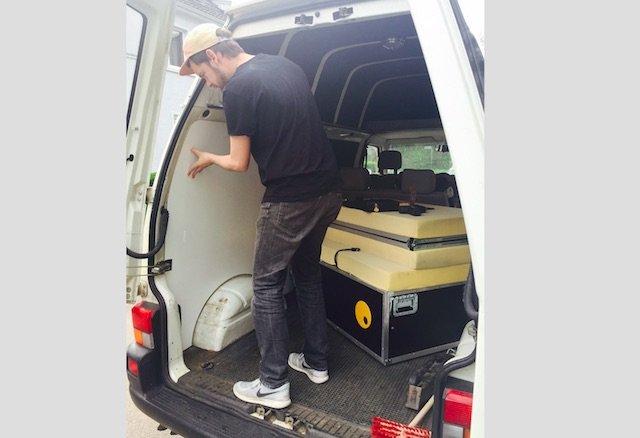 Seitenverkleidungen VW Bus selber bauen