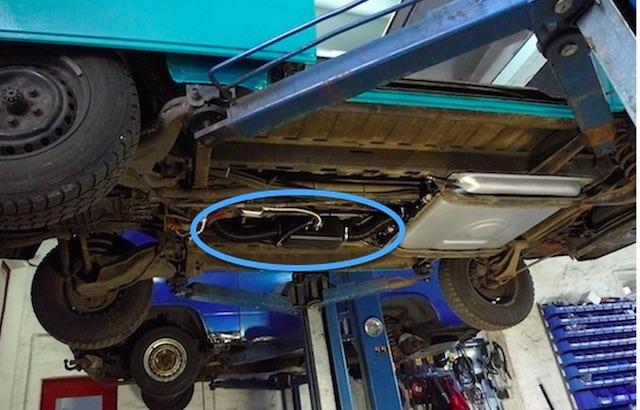 T3 Standheizung Diesel Umluftheizung nachrüsten mit dem BusChecker