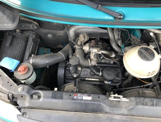 T4 1.9 TD 54 kw 90 75 PS Motor FINGER WEG