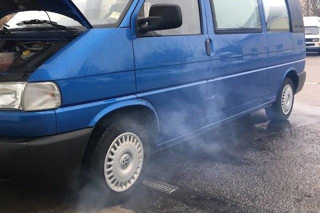 T4 California Rauch vorne links Zuheitzer defekt