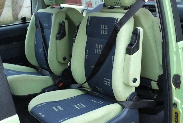 T4 Dreipunktgurte back to back Sitz nachruesten beim VW Bus Checker
