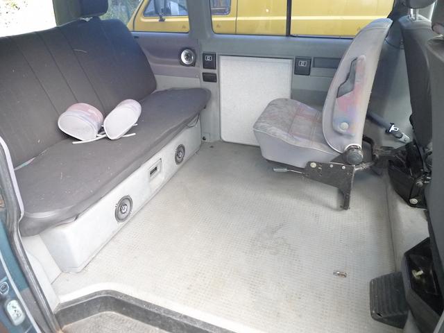 T4 Multivan Ausstattung hinten Serie 1 bis 1996
