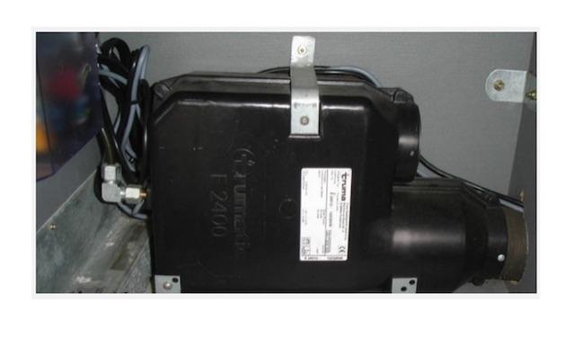 T4 Standheizung Truma Umlauftheizung auf Gasbetrieb Betriebsanleitung vom BusChecker
