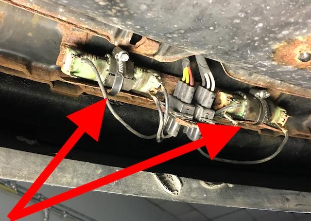 T4 Vorwiederstand Halter weggerostet