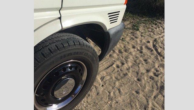 VW Bus Chrom Zierringe Stahlfelgen