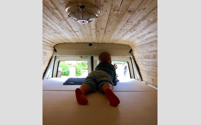 VW Bus Liegeflaeche bauen