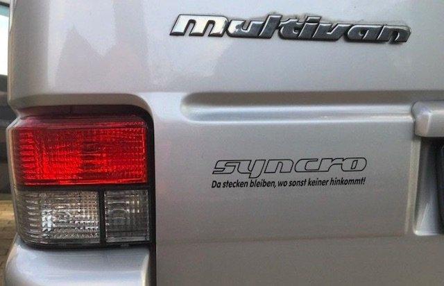 VW Bus Syncro extrem Erfahrungen BusChecker