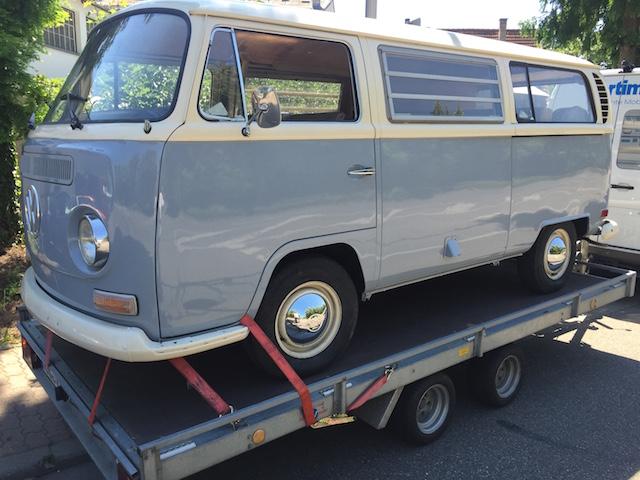 VW Bus T2a Überführung nach BusChecker Auftrag