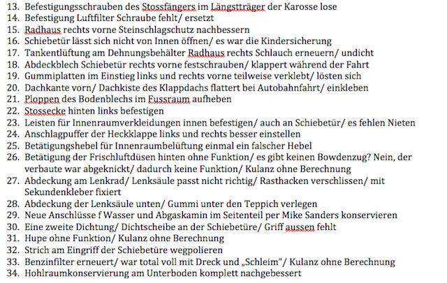 VW Bus T3 KlappDachCamper kurz vor Auslieferung Nacharbeiten Tipps vom BusChecker Seite 2 von 2