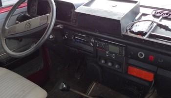 VW Bus T3 Syncro mit zuschaltbarem Allrad