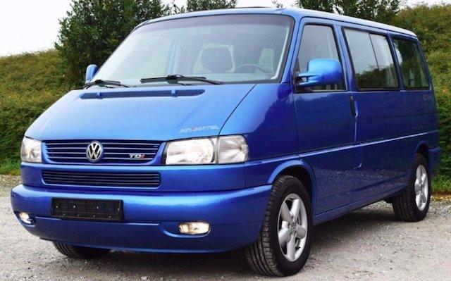 VW Bus T4 Inserat mit Bildern wie aus VW Prospekt Foto