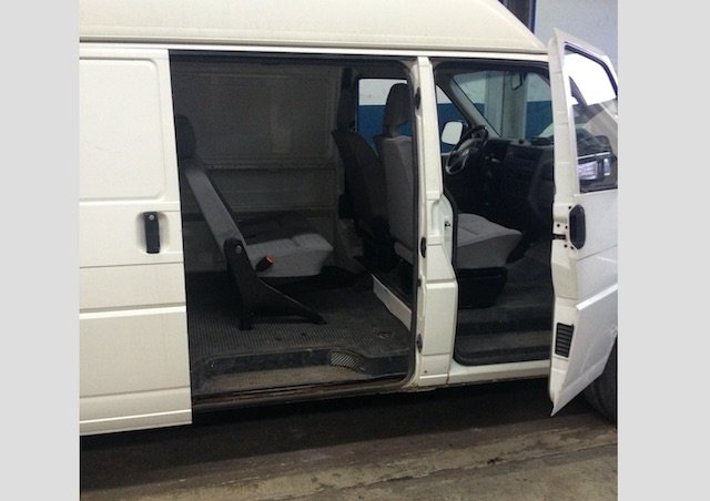 VW Bus T4 Isofix nachruesten