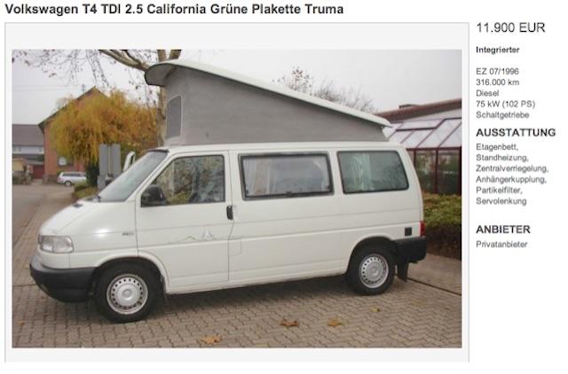 VW Bus T4 Klappdach Camper Schatzkiste gehoben gut beraten durch den BusChecker?