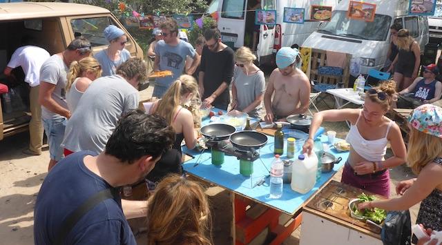 VW Bus kochen TEST auf verschiednen Kochgelegenheiten