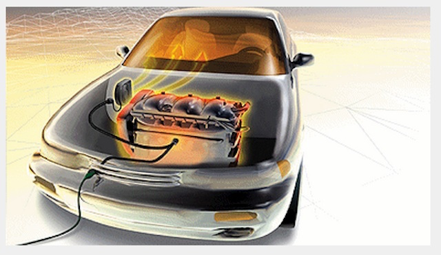 WAECO Motor- und Innenraum Vorwärmung nachgerüstet beim BusChecker