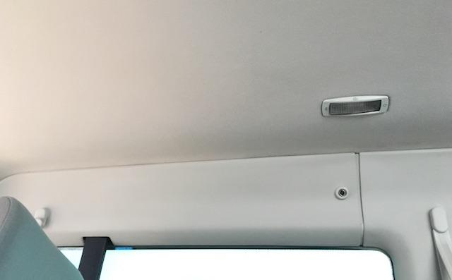 verdreckter Himmel VW Bus T4 reinigen