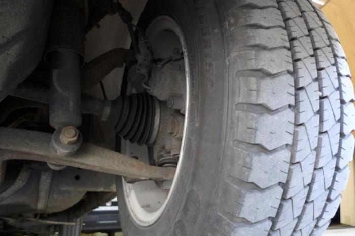 Bremse VW Bus T4 Syncro vorne innen Bereich Gelenwelle links aussen