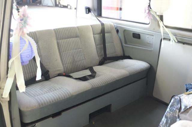 VW Bus T3 Multivan Dreipunkt Gurte hinten guenstig nachruesten extra lang