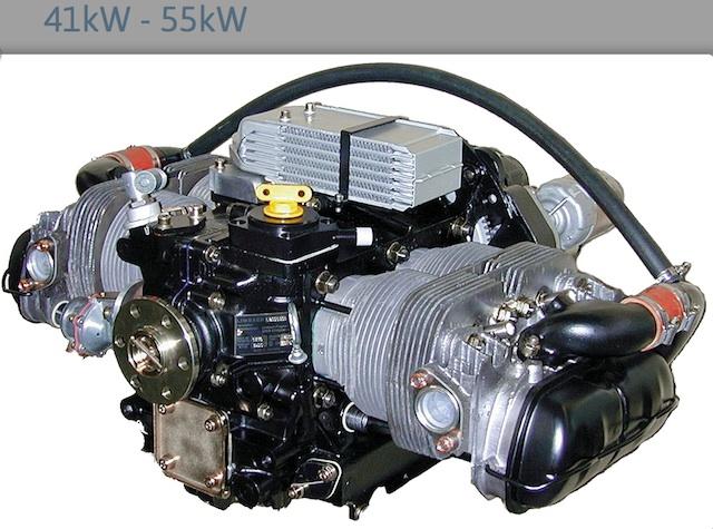 Flugmotor Limbach Basis Boxermotor Luft gekuehlt