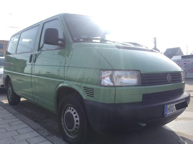 VW Bus T4 Kotflügel vorne rechts Rost an Lufthutze nicht zu sehen