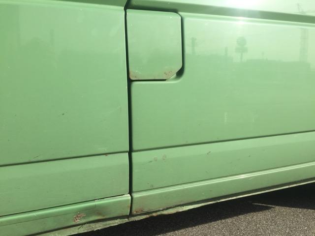 VW Bus T4 Tankdeckel Rost nach einem Jahr