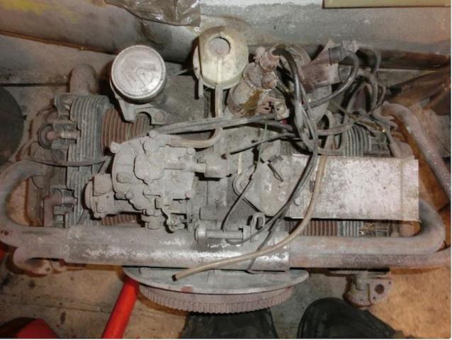 Limbach Motor ist unscheinbar als vermuteter Kaefermotor inseriert