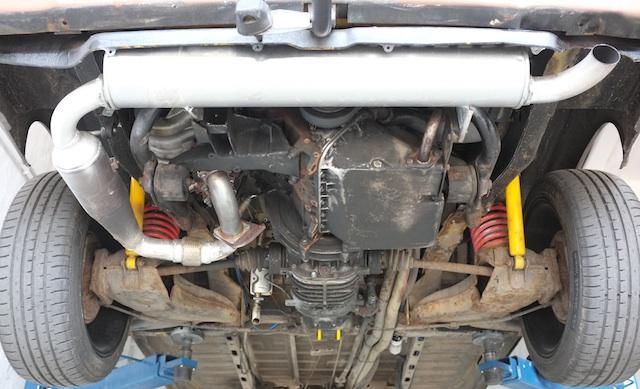 T3 mit 2E Umbau Motor von unten