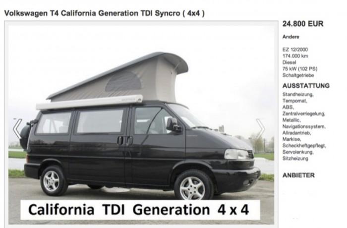 T4 Syncro California Genration KlappDachCamper Kaufberatung mit dem BusChecker