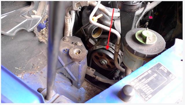 T4 TDI Zahnriemen beschädigt und kurz vorm reissen festgestellt beim FAN360 VW BusCheck