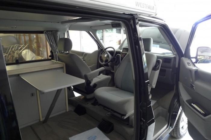 Uralt Navigation im VW Bus T4