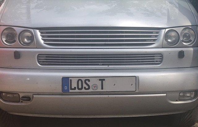 VW Bus Kennzeichen name it BusChecker