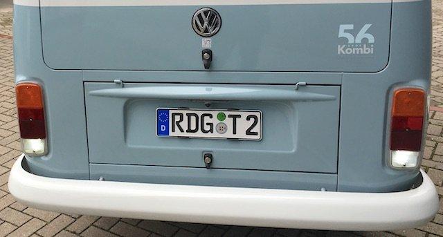 VW Bus T2 letzte Serie Brasilien