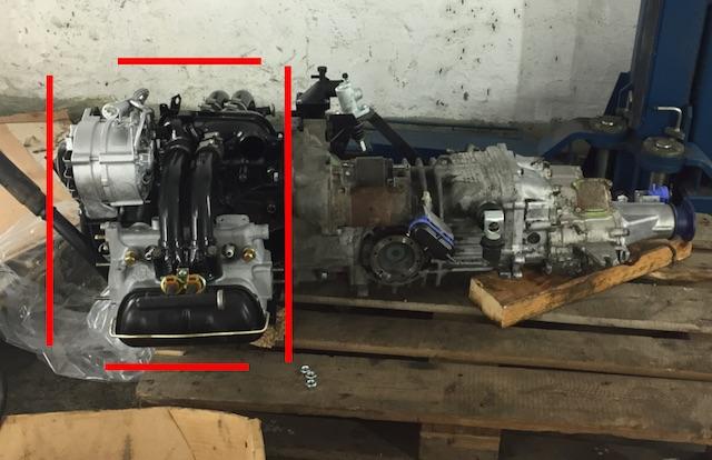 VW Bus T3 Boxer Benziner Motor general überholt