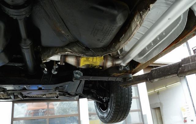 VW Bus T4 Syncro Partikelfilter nagelneu für grüne Plakette