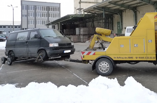 VW Bus T4 liegen geblieben aufgrund schlechten Services